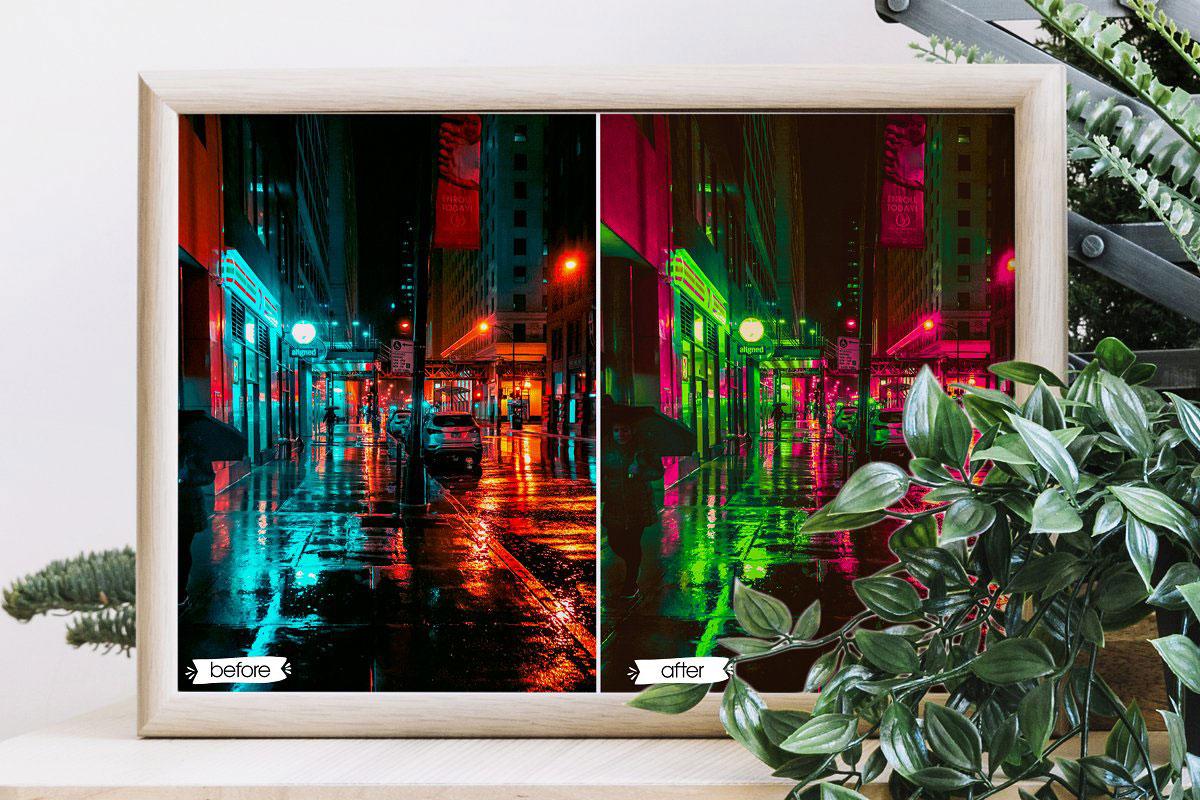 Cyberpunk Lightroom Presets 5199220 3
