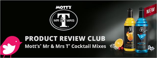 Mott's* Mr & Mrs T* Cocktail Mixes