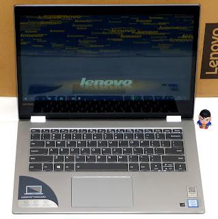 Jual Lenovo Yoga 520-14IKB Gen.7 TouchScreen Fullset Bekas