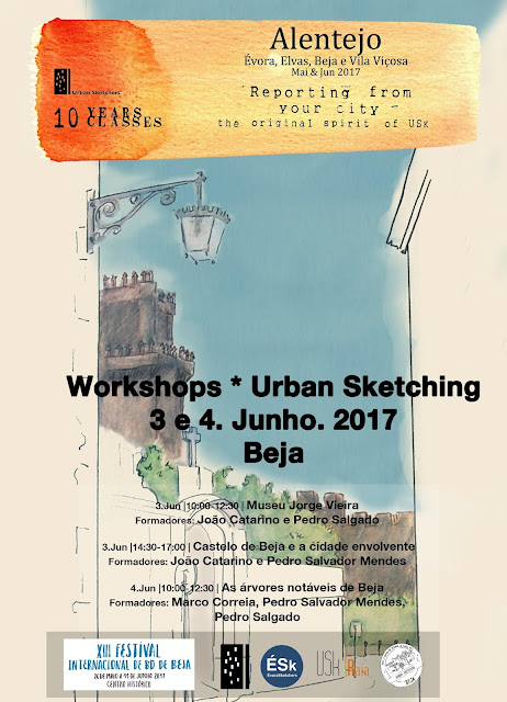 Workshops 10 Years 10 Classes - Beja 3 e 4 de Junho 2017