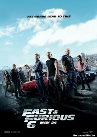 Fast & Furious 6 2013 BRRip 720p,480p,1080p Dual Audio