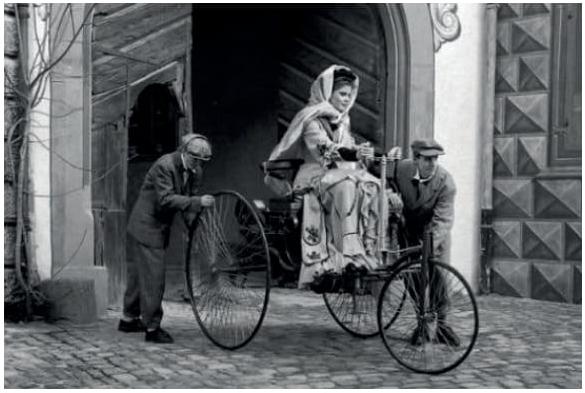 Bertha Benz e o primeiro teste de um veículo motorizado (1888)