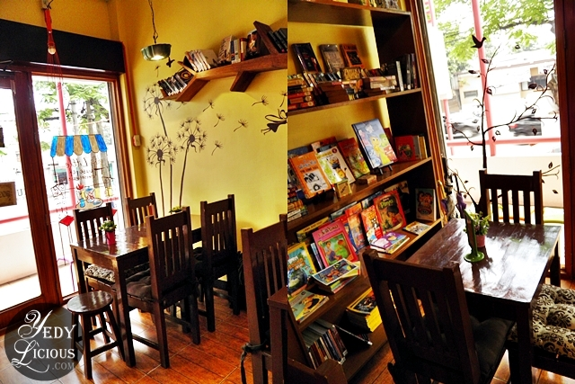 Books and Good Food at The Little House of Cheesecakes Antipolo