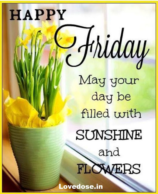 good morning friday wishes for him
