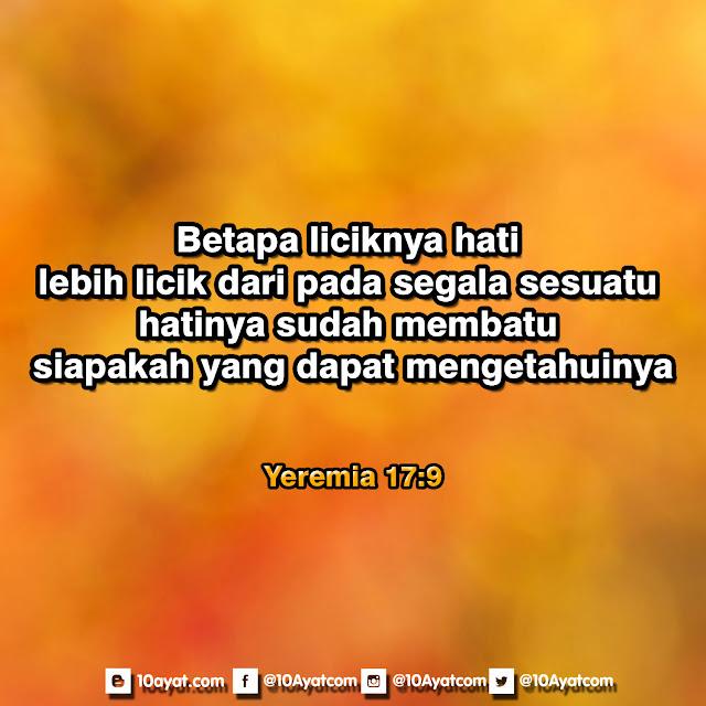 Yeremia 17: 9