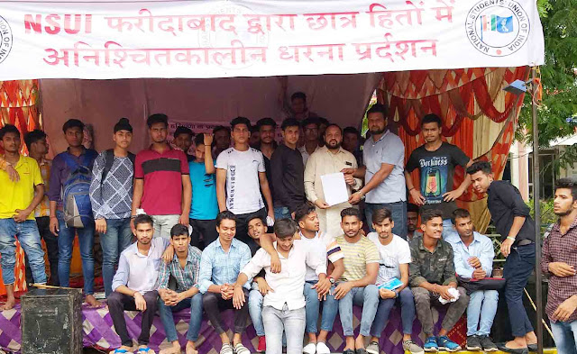 Student face of Khattar government exposed: Munesh Sharma