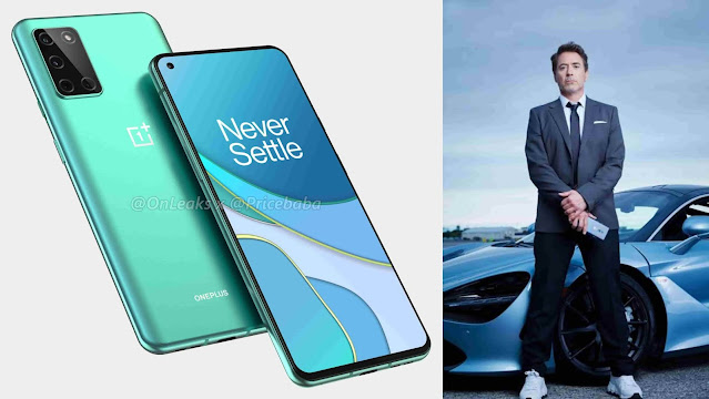 Grand Arrival of OnePlus 8T 5G Teased by Robert Downey Jr.