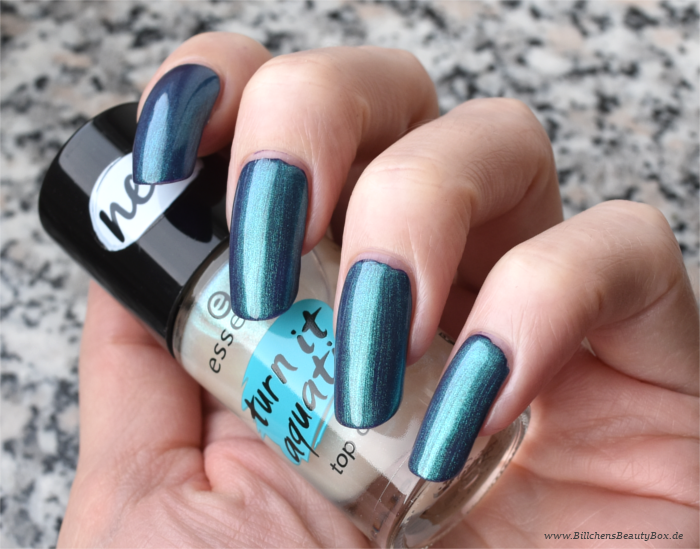 essence turn it aquatic Top Coat