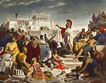 Sejarah Lahirnya Demokrasi