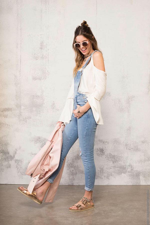 Enteritos de jeans verano 2017 ropa de moda mujer. Moda 2017 verano.