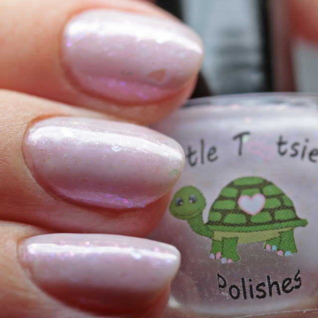 Turtle Tootsie Polishes Lilac Iridescence