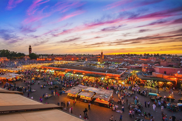 Experience everything at Marrakesh's central square