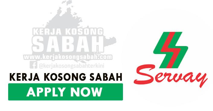 Kerja Kosong Sabah 2021 | Kerani, Pemandu Lori, HR Executive - Servay