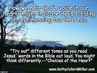 What is Jesus' Tone of Voice? Rebuke or Wooing?