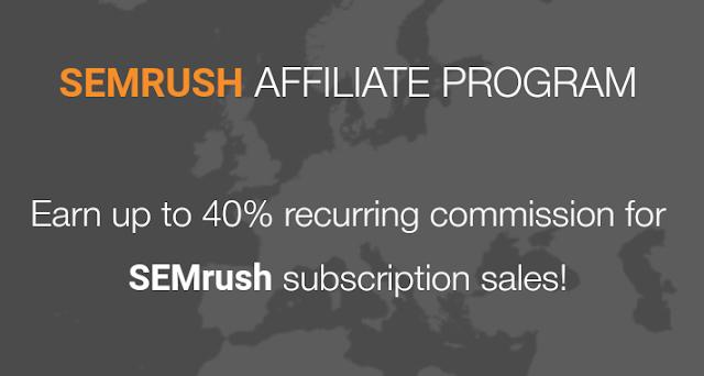 Semrush Affiliate Program - Promote Semrush Tools & Earn Money Using Berush