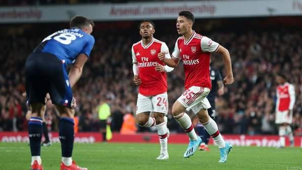 Highlight: Tierney Stars as Arsenal Thump Nottingham