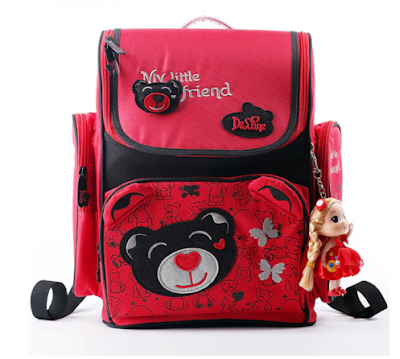 Delune School Bag Waterproof Backpacks For Girls Boys