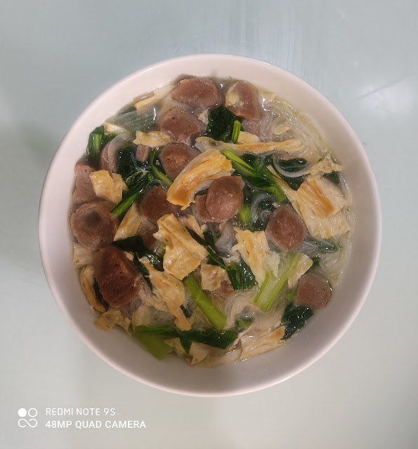 Ayam Masak Kicap Dan Sayur Sawi Bebola Daging, ayam, ayam masak kicap mudah dan sedap, resipi ayam mudah dan sedap, resepi ayam masak kicap, ayam