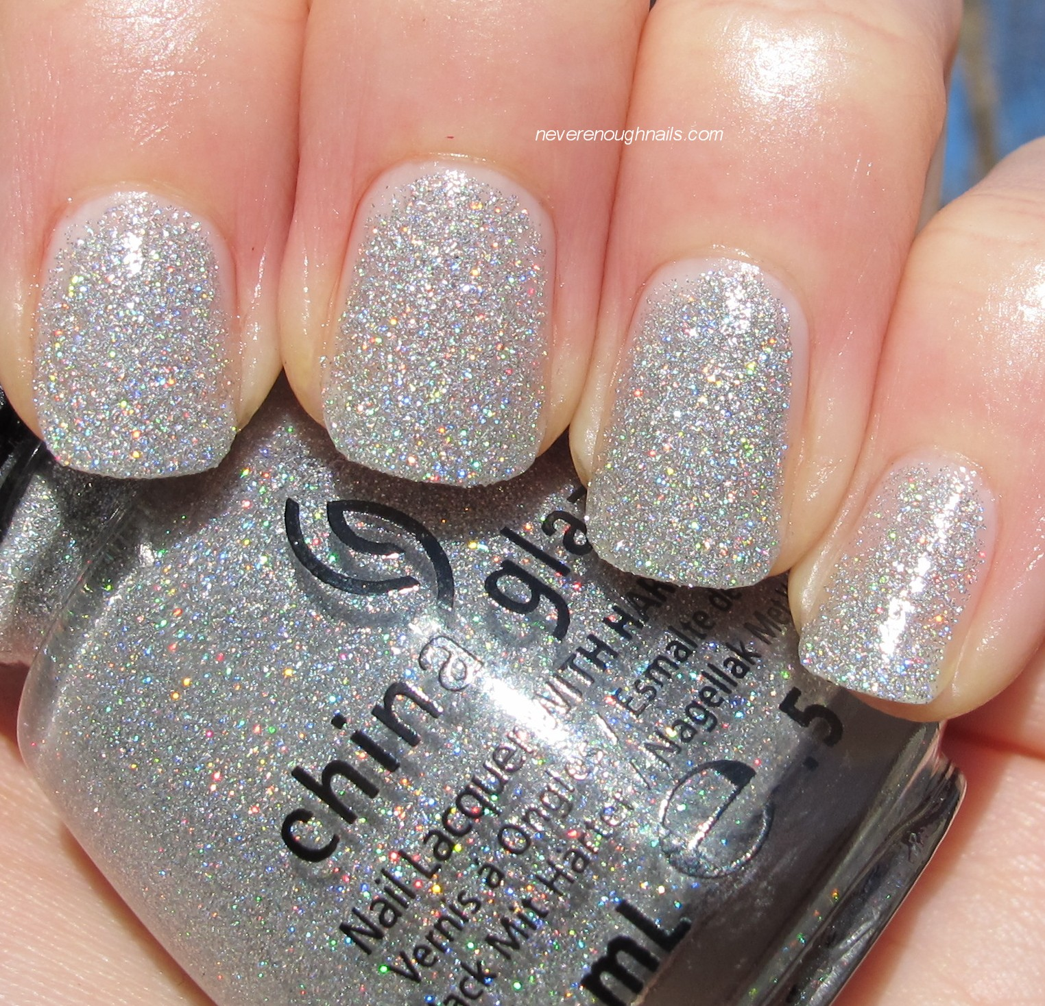 Never Enough Nails: Instead of real snow, I have China Glaze ...