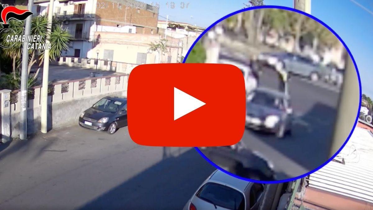 Arresti a Catania per tentato omicidio in via Leucatia (VIDEO)