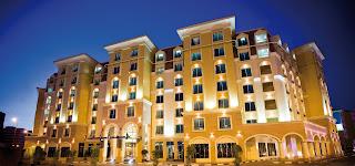 Exterior of AVANI Deira hotel, Dubai, UAW