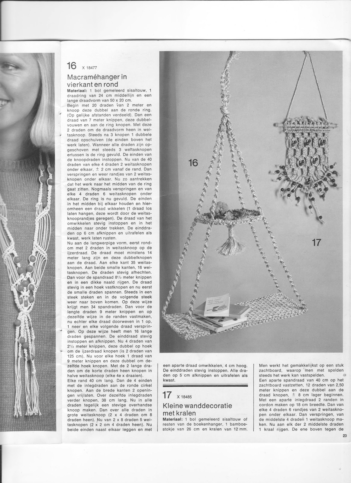 patroon macrame
