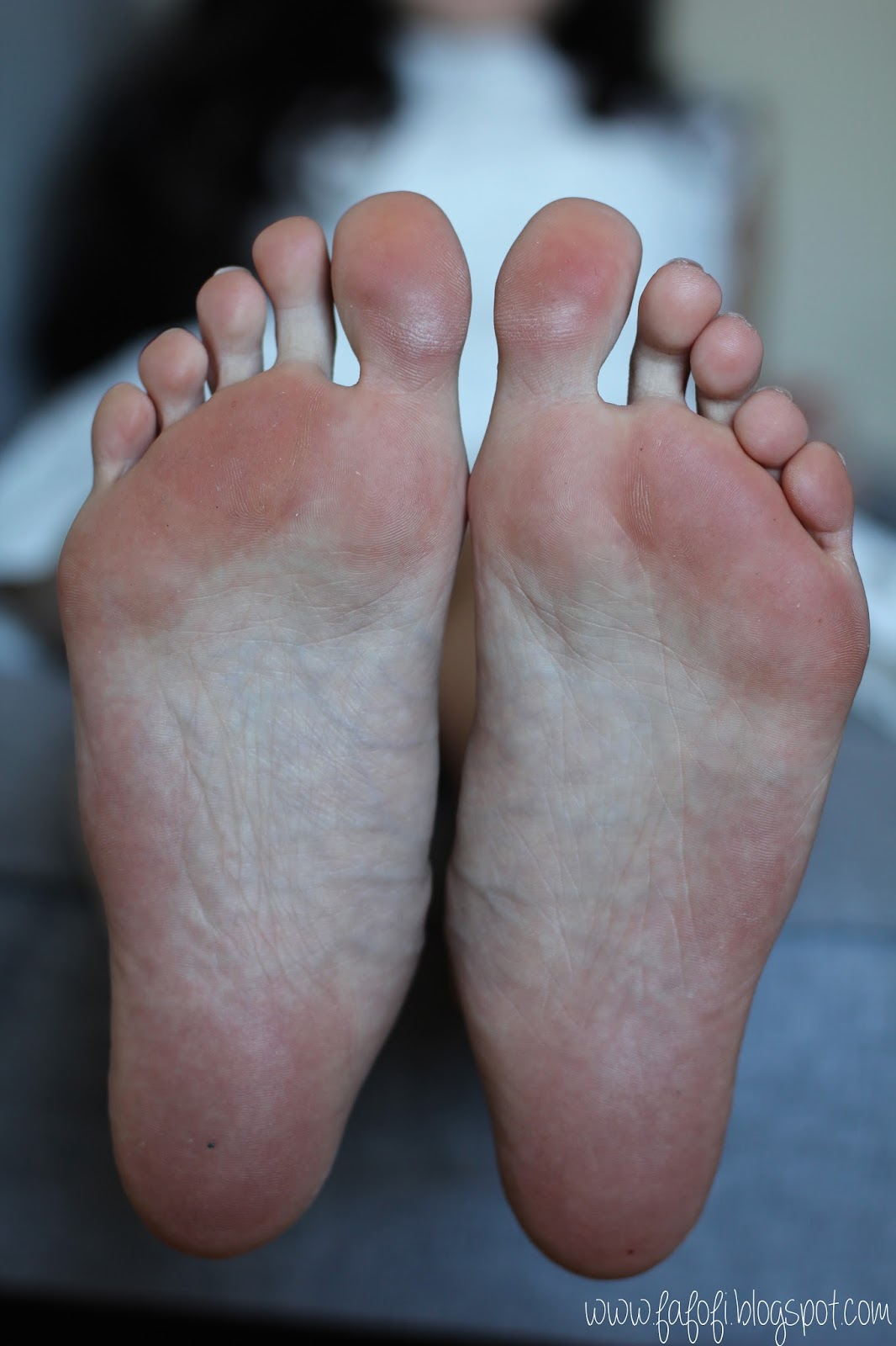 Female Foot Before Bottom