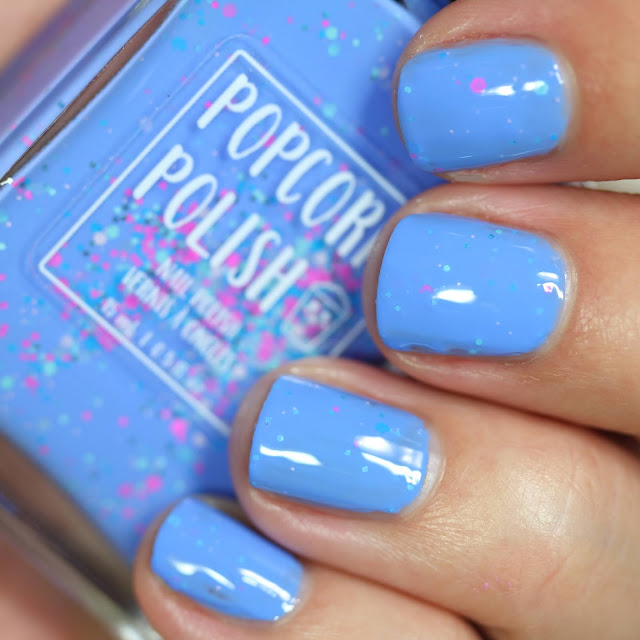 Popcorn Polish Space Cadet swatch