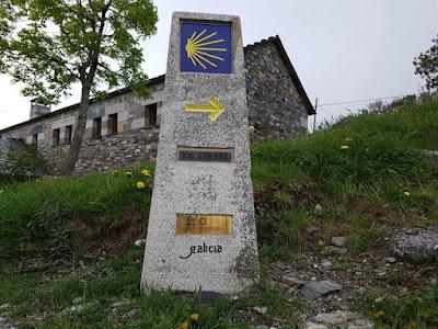 Primera parada del Camino de Santiago Francés en Galicia