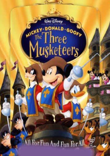 Mickey Donald Goofy The Three Musketeers 2004 Best Cartoon For Utv Watch Urdu Dubbed