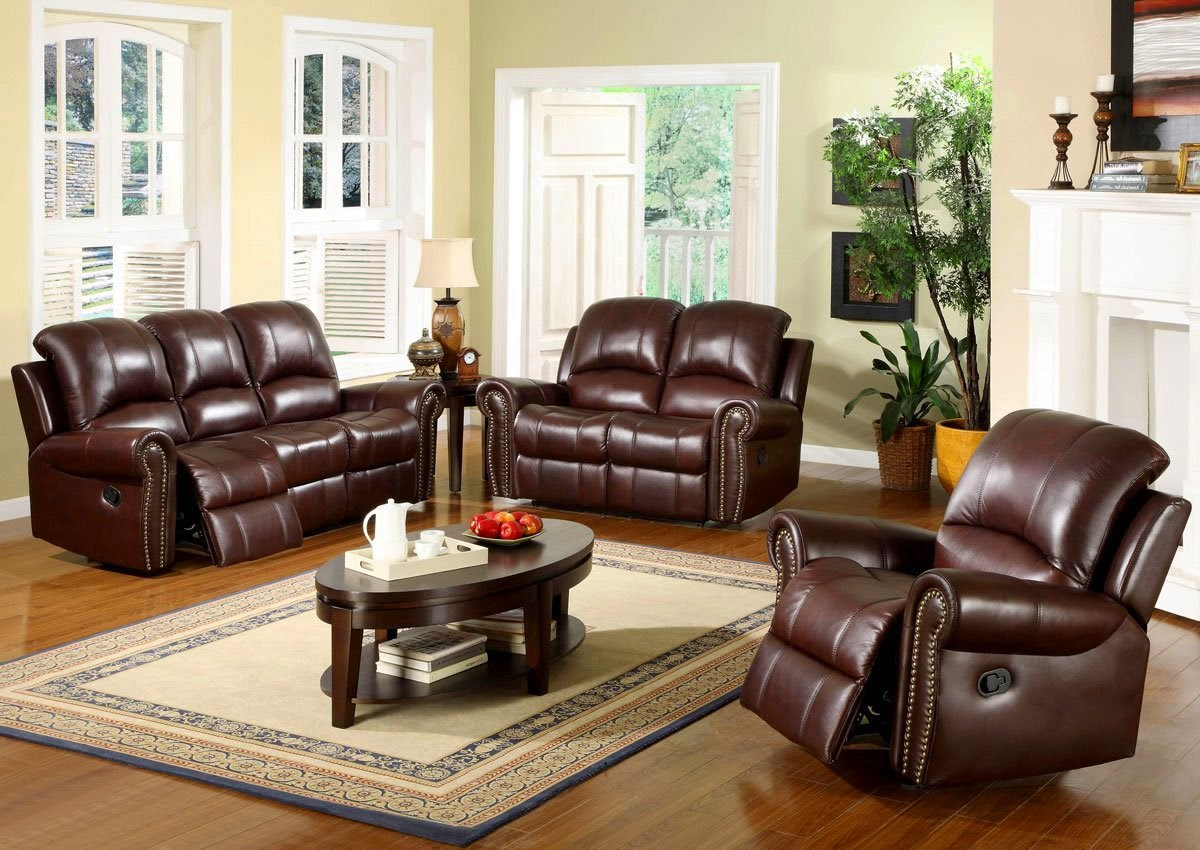 Vig Contemporary Red Reclining Living Room Sets