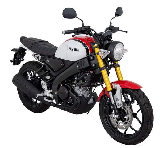 Yamaha XSR 155 Red White