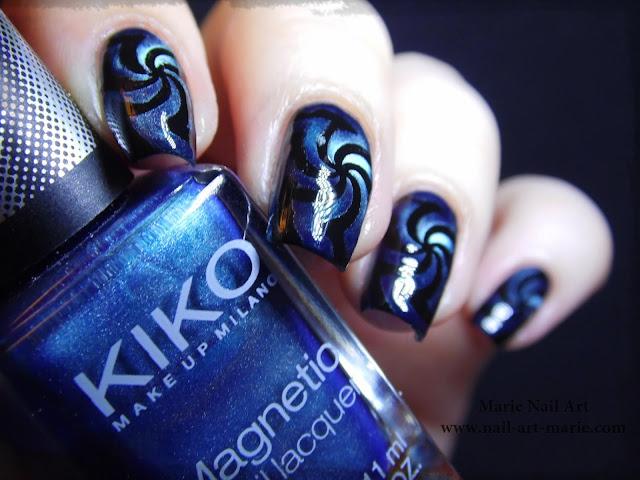 Nail Art Magnétique Hypnotisant5