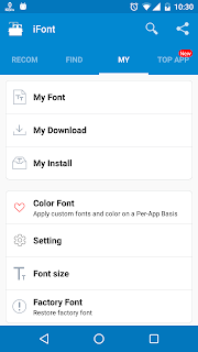 change font on your one plus devices