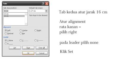 Cara mudah membuat daftar isi di word