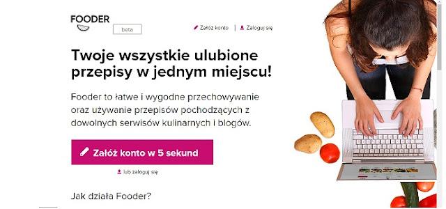 Moja organizacja przepisów - Fooder.pl