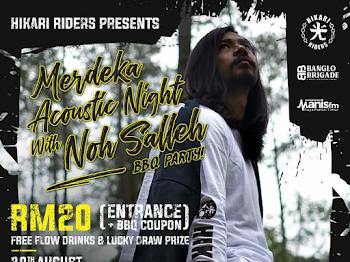 MERDEKA ACOUSTIC NIGHT WITH NOH SALLEH