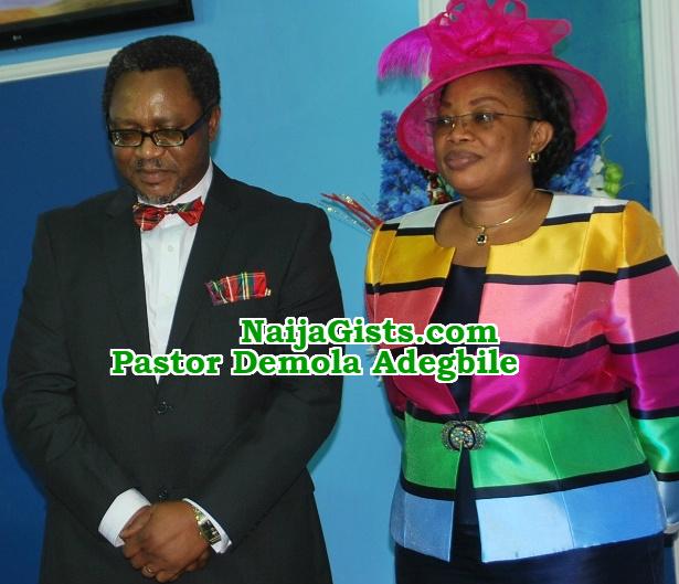 pastor demola adegbile wife