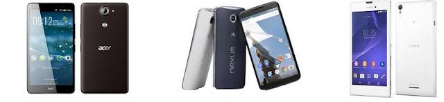 daftar hp android dengan kamera terbaik Update oktober 2016 yang bisa anda coba pilih sesuai keinginan kalian Hp android RAM 3GB kamera jernih bagus 13 MP - 20 MP murah 2 jutaan