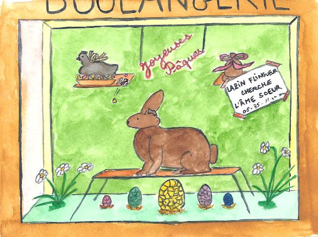 Pâques - lapin flingueur cherche l'âme soeur