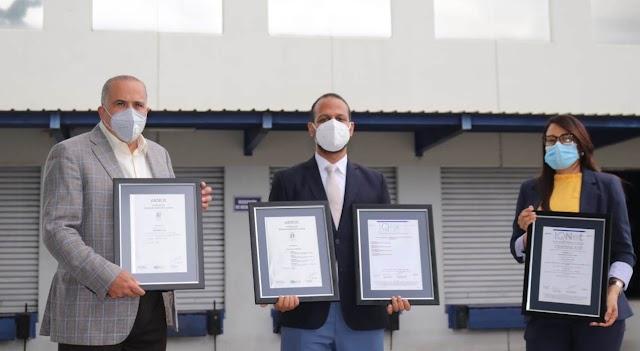 Distribuidora Victoria Yeb recibe certificación en Gestión de Calidad ISO 9001-2015