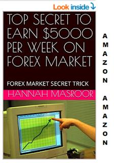 TOP SECRET TO EARN $5000 PER WEEK ON FOREX MARKET: FOREX MARKET SECRET TRICK