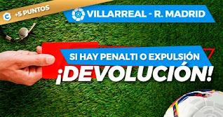 Paston promo Villarreal vs Real Madrid 21-11-2020