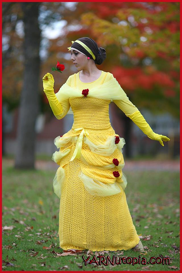 Crochet Cosplay: Beauty and the Beast's Belle