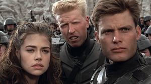 """Starship Troopers """"Las brigadas del espacio"""" 1997 HD 1080p Español Latino, Invasión 1997 HD 1080p Español Latino"""