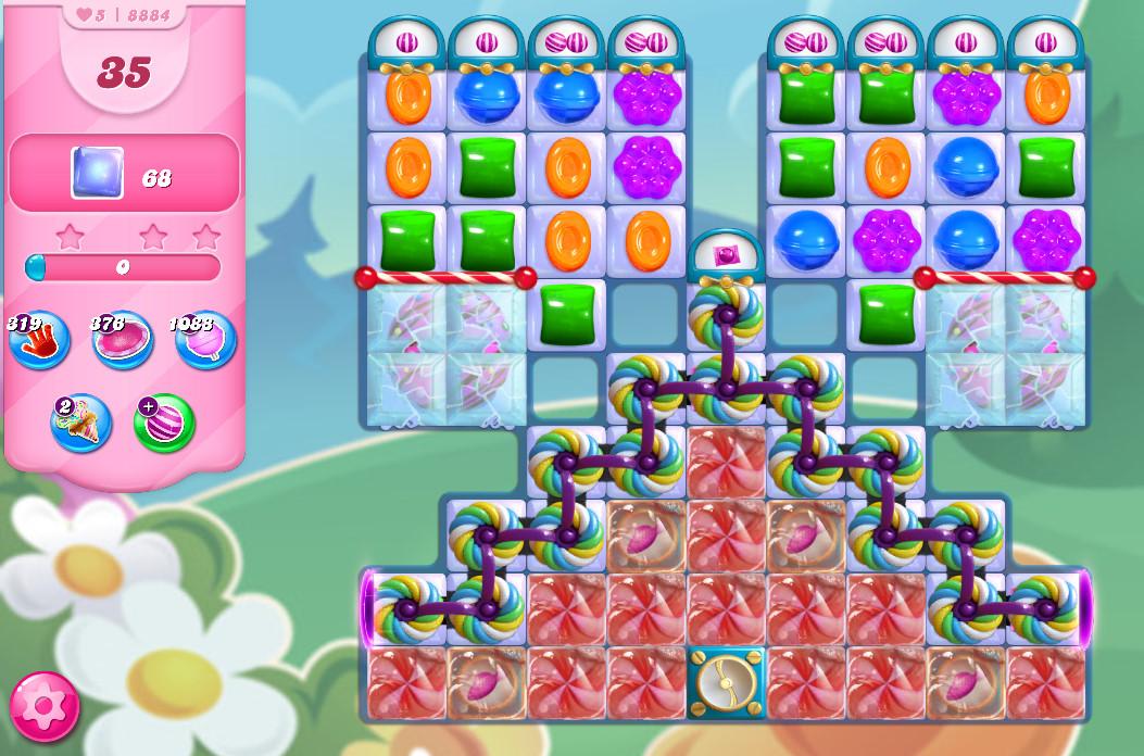 Candy Crush Saga level 8884