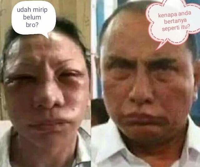 10 Meme 'Ratna Sarumpaet' Babak Belur Ini Kocaknya Sungguh Mengedjoetkan