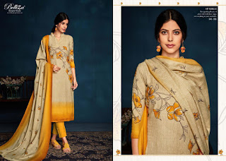 Belliza Sparkle Pashmina winter Salwar kameez wholesaler