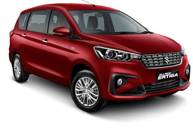 New Maruti Suzuki Ertiga 2018 Red Pics