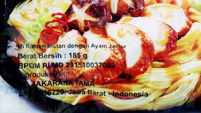 michiyo ramen sehat dan halal